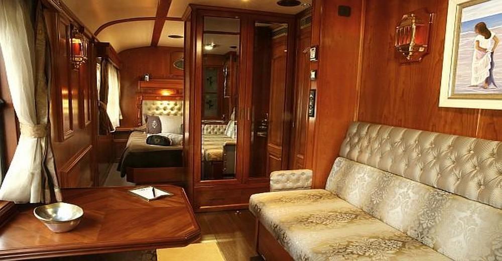 Suite deluxe du Train El Transcantábrico Gran Lujo