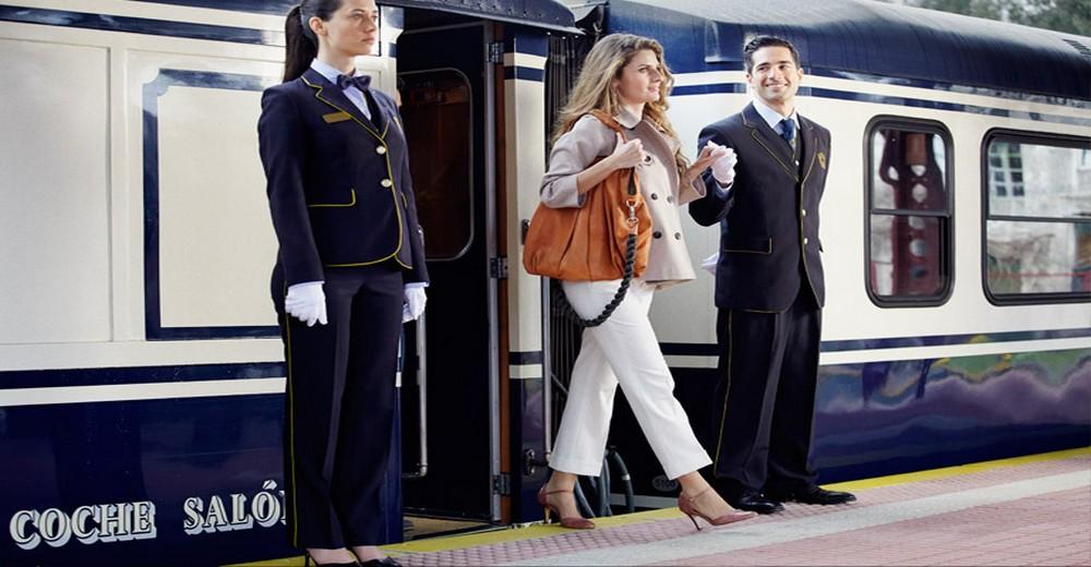 Sortie du Train El Transcantábrico Gran Lujo