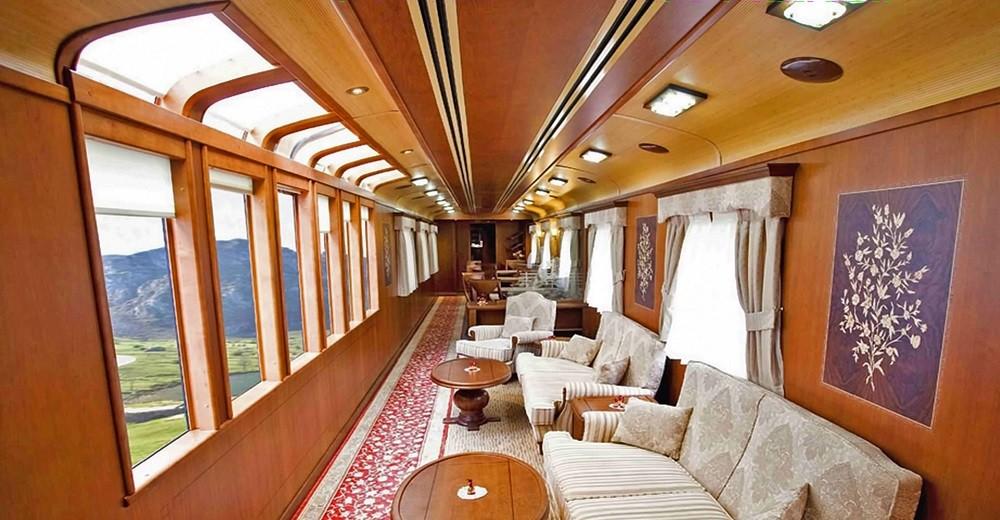 Salon panoramique du Train El Transcantábrico Gran Lujo